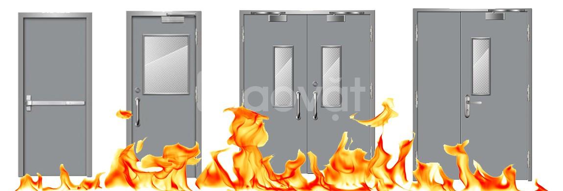Cửa thép chống cháy cho chung cư, tòa nhà, quán karaoke