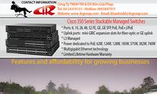 Cisco 350 Managed Switches