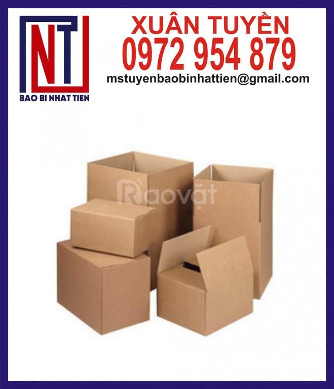 Thùng giấy carton giá rẻ, thùng carton không in ấn (ảnh 4)