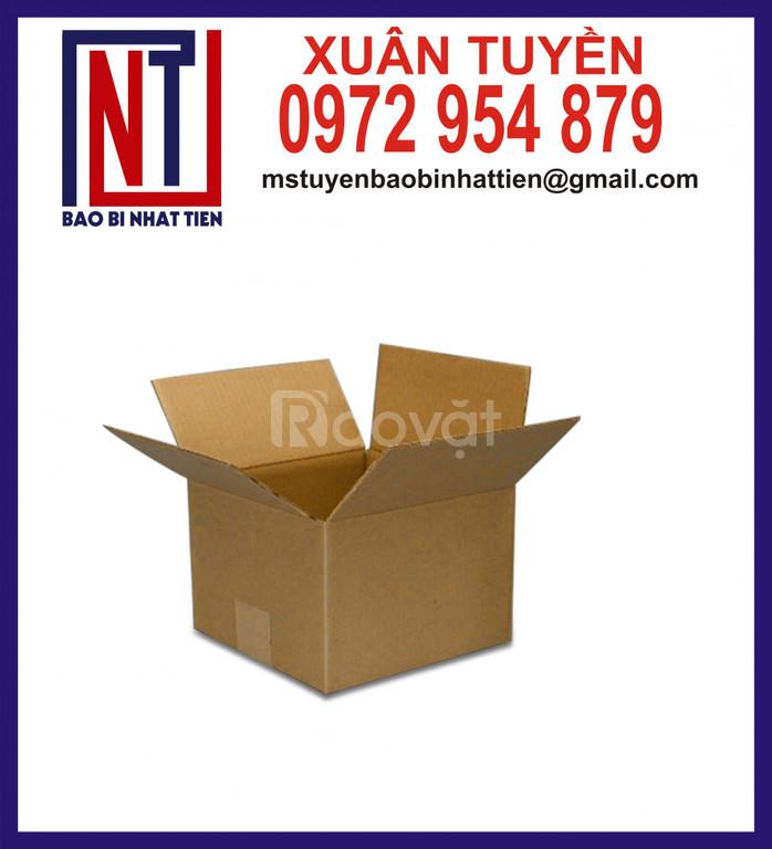 Thùng giấy carton giá rẻ, thùng carton không in ấn (ảnh 5)