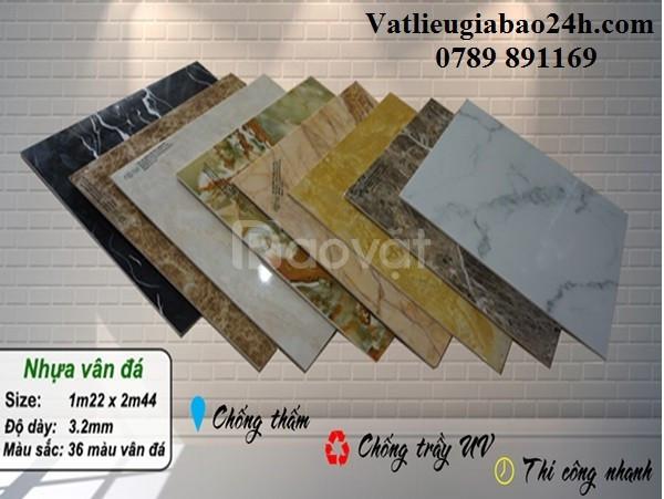 Tấm nhựa giả đá, đá hoa cương rẻ thị trường Quy Nhơn, Bình Định