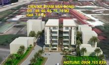Bán nhà 5 tầng mặt phố Phạm Văn Đồng, giá 7,3 tỷ/căn