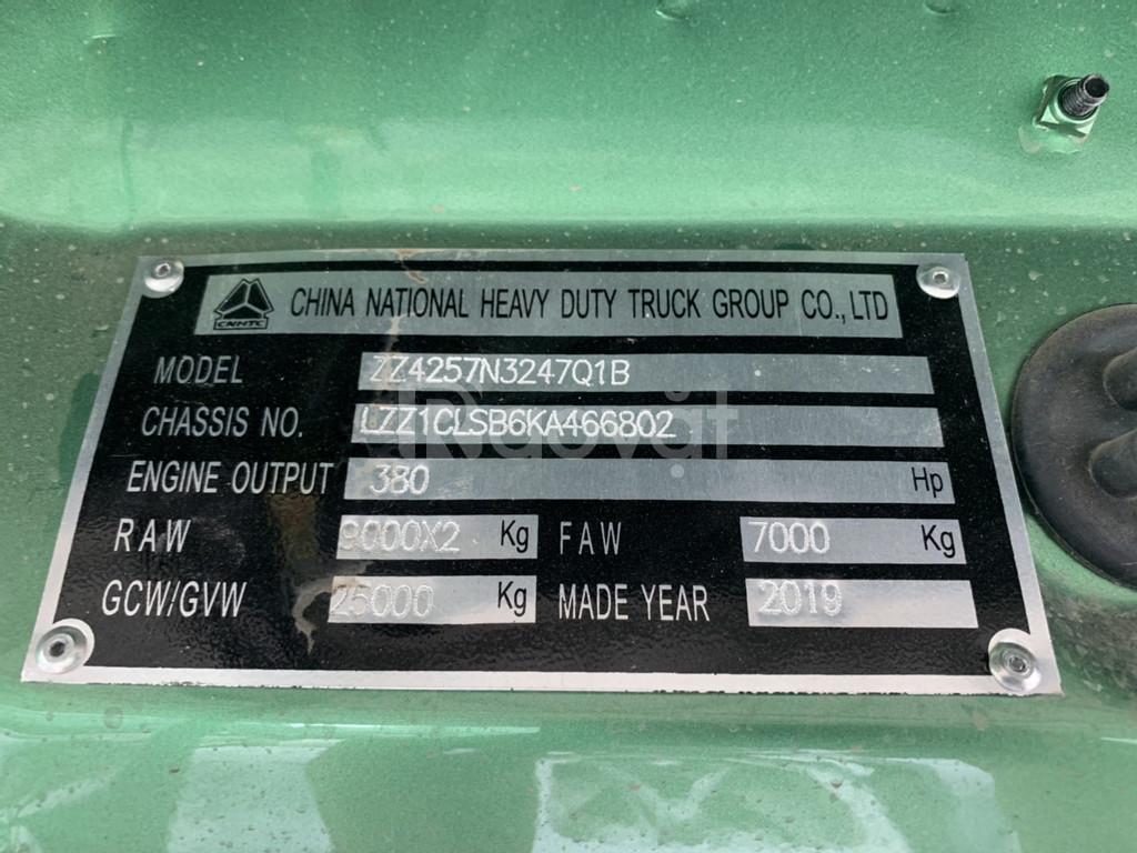 Xe đầu kéo Howo 380hp và 420hp cầu dầu