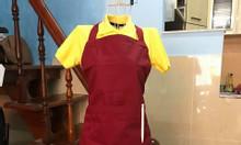 May đồng phục làm bếp, tạp dề theo yêu cầu