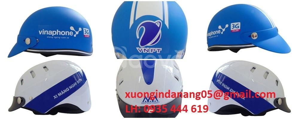 Mũ bảo hiểm quà tặng khách hàng Đà Nẵng