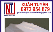 Sản xuất túi nilon không in đựng nước đá tinh khiết