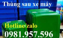 Thùng sau xe máy, thùng chở thực phẩm đông lạnh xe máy