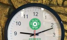 Làm đồng hồ treo tường in logo theo yêu cầu