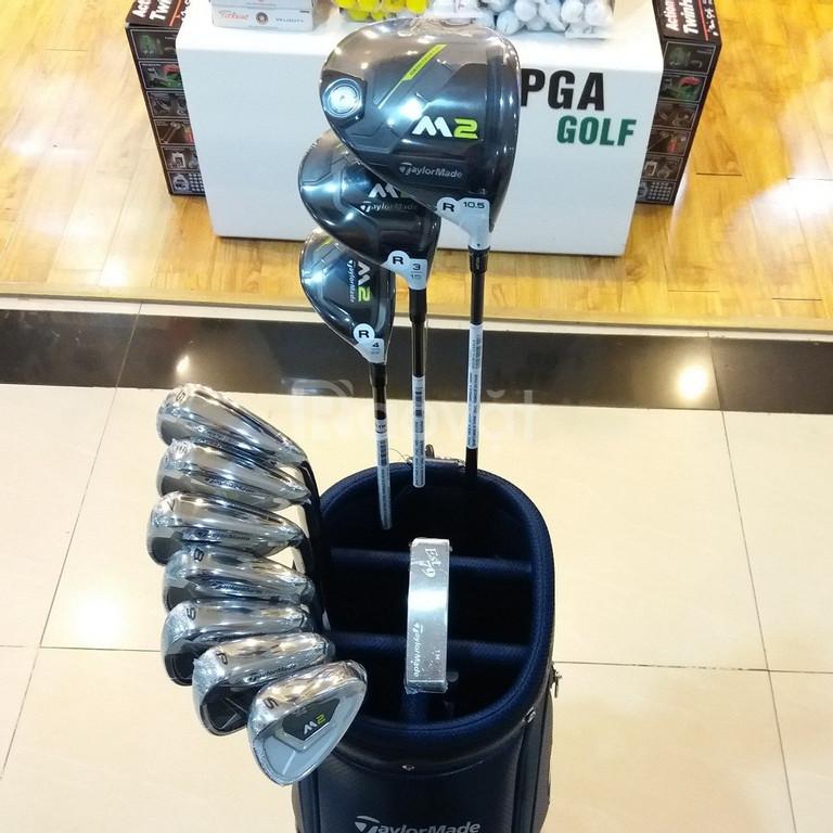 Fullset bộ gậy golf Taylormade M2 2017 mới 100% chỉ 37tr500