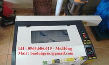Máy laser khắc mica 6040, máy laser cắt gỗ, cao su giá rẻ