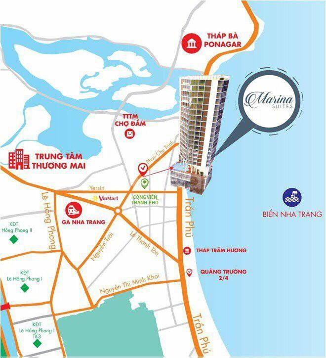 Chính chủ cần bán căn hộ view biển trực diện tại trung tâm Nha Trang
