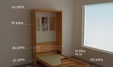 Giường gấp thông minh kết hợp bàn làm việc hoặc sofa giá rẻ tại HCM