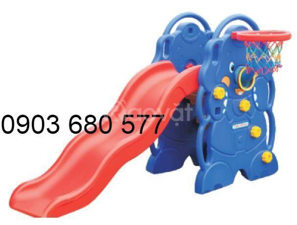 Chuyên cung cấp cầu trượt đơn trẻ em giá rẻ