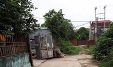 CC bán nhà xưởng trên đất thổ cư 195m2 đất mặt đê Mai lâm, Đông Anh