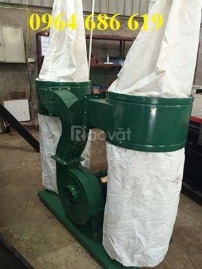 Máy hút bụi cnc 2 đầu, máy hút bụi công nghiệp cho xưởng mộc