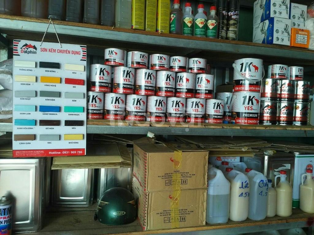 Chuyên cung cấp sơn kẽm chuyên dụng 1K Yespaint cho đại lý