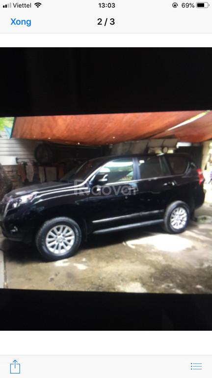 Chính chủ bán xe Toyota Land Cruiser Prado màu đen 2017