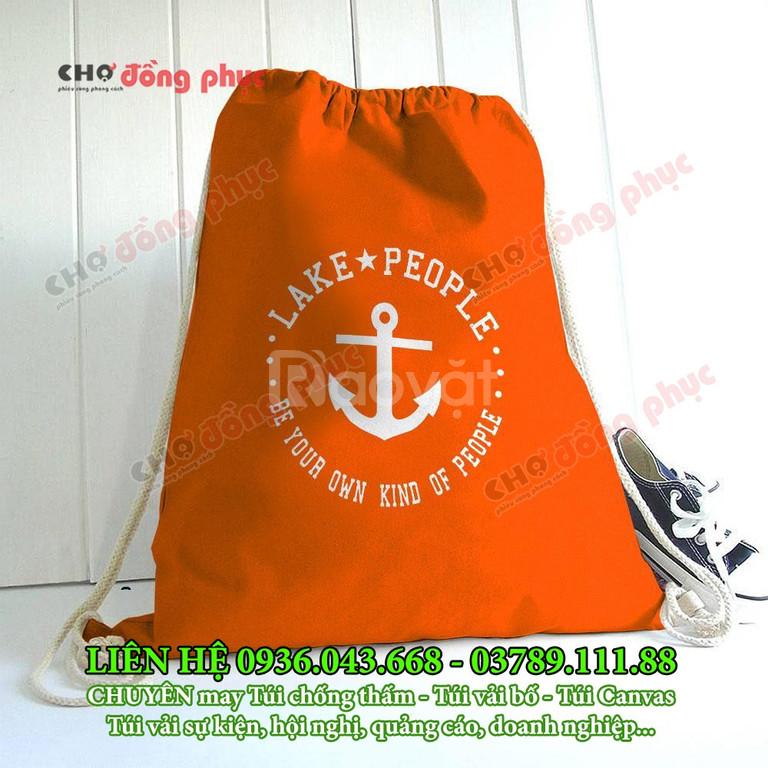 Túi vải chống thấm, túi vải bố, túi vải Canvas quà tặng doanh nghiệp