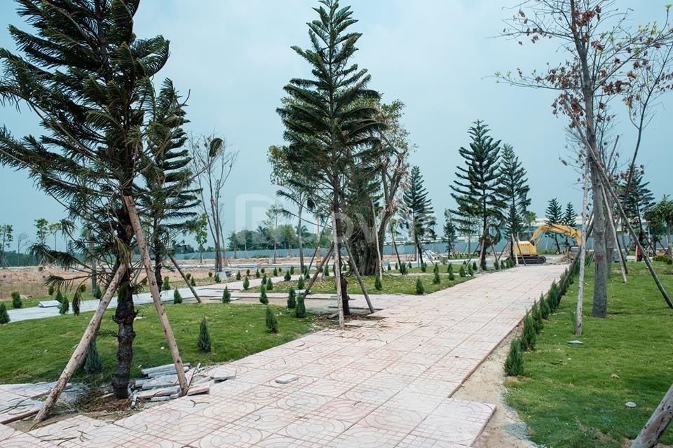 Cần tiền bán đất mặt tiền đường Nguyễn thị lắng 100m2 thổ cư 100%