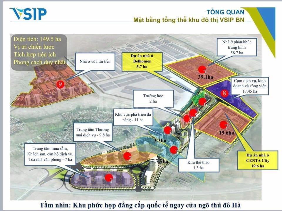 Dự án Belhomes Vsip bàn giao nhà tháng 6 hiện nay ngay Từ Sơn