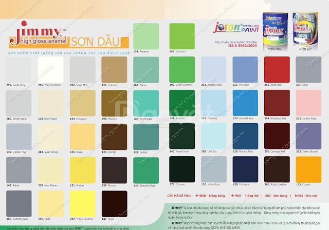 Cửa hàng phân phối sơn dầu Joton Jimmy màu 2 sao tại Kiên Giang