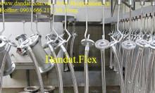 Ống chống rung (khớp nối chống rung mặt bích) - ống inox nối mặt bích