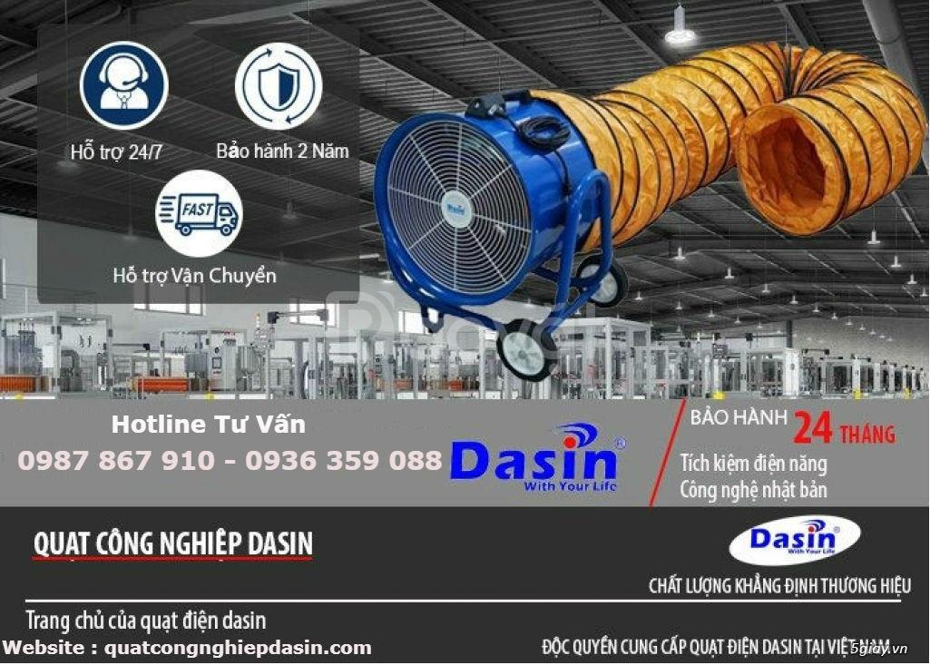 Báo giá quạt hút công nghiệp Dasin