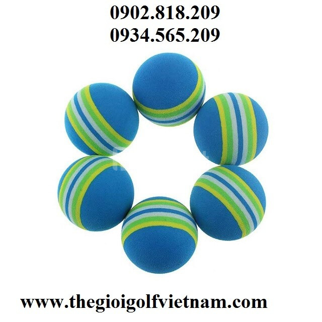 Bóng golf xốp, bóng tập golf bằng xốp