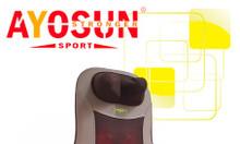 Ghế massage hồng ngoại 8 bi chính hãng Ayosun Hàn Quốc, bảo hành 5 năm