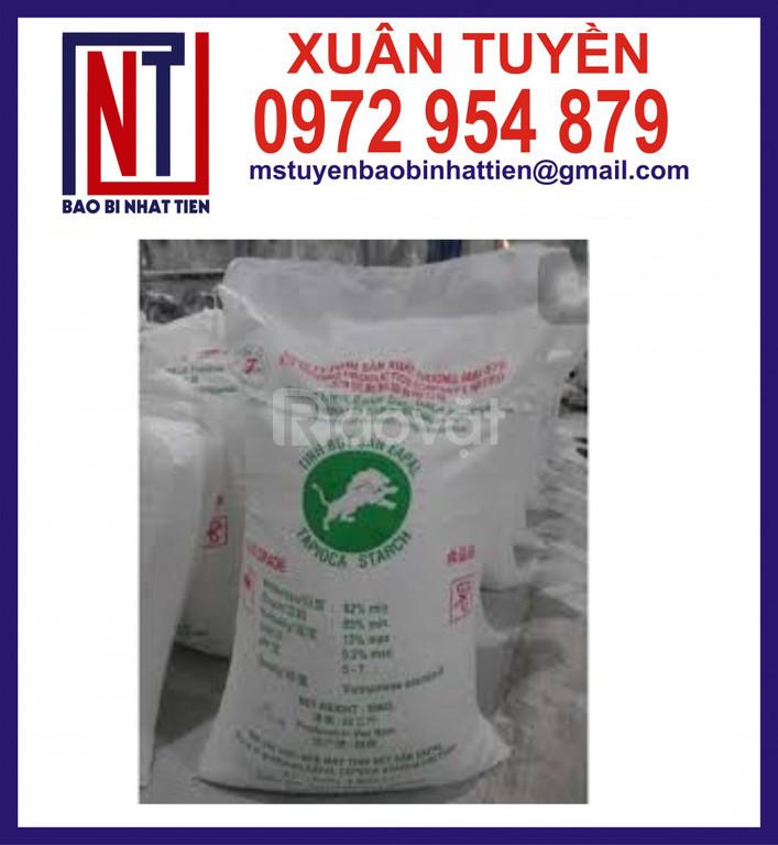 Chuyên sản xuất bao đựng tinh bột sắn, bột năng, bột mì