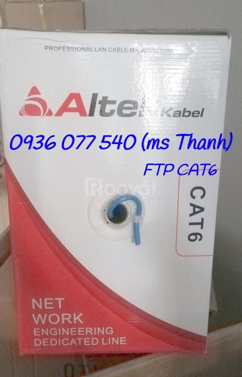 Altek kabel Cat6 FTP, cáp mạng chống nhiễu, cáp xoắn