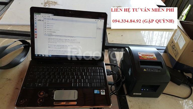 Trọn bộ phần mềm tính tiền và máy in hóa đơn giá rẻ