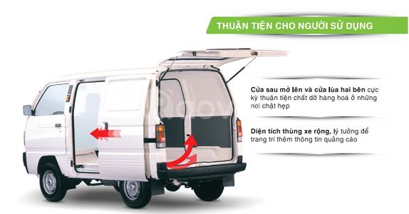 Xe Suzuki Blind Van, su cóc, tải Van, giá tốt