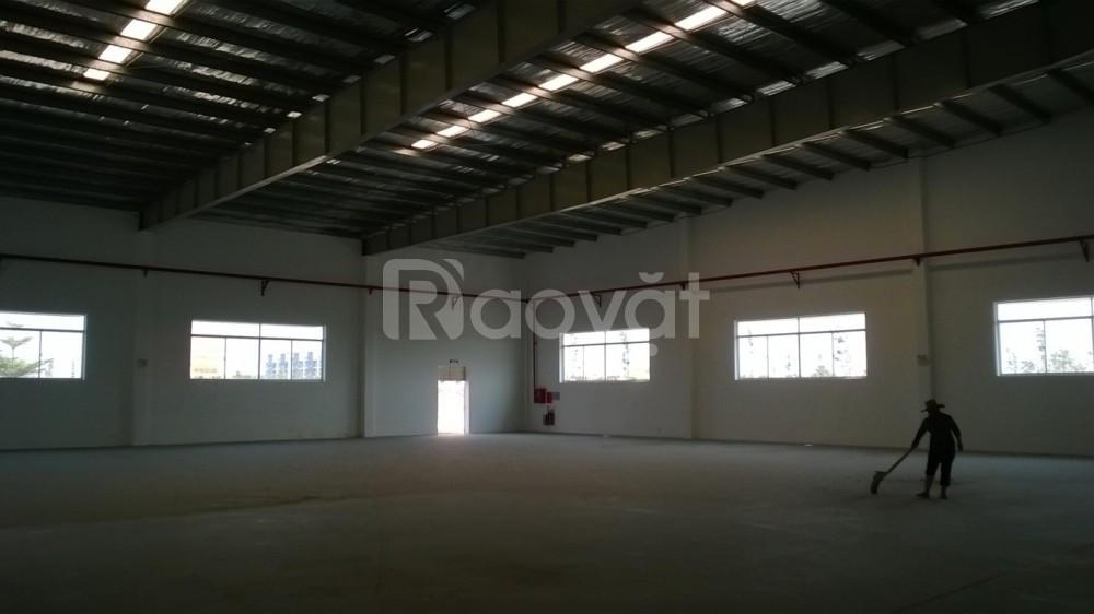 Cho thuê xưởng tại KCN Visip 2 - 2000m2 - 3,6$/m2