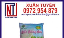 Bao bì gạo 5kg ghép màng phức hợp