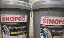 Mỡ chịu nhiệt Sinopec Lithium Grease NLGI 2 xô 17Kg