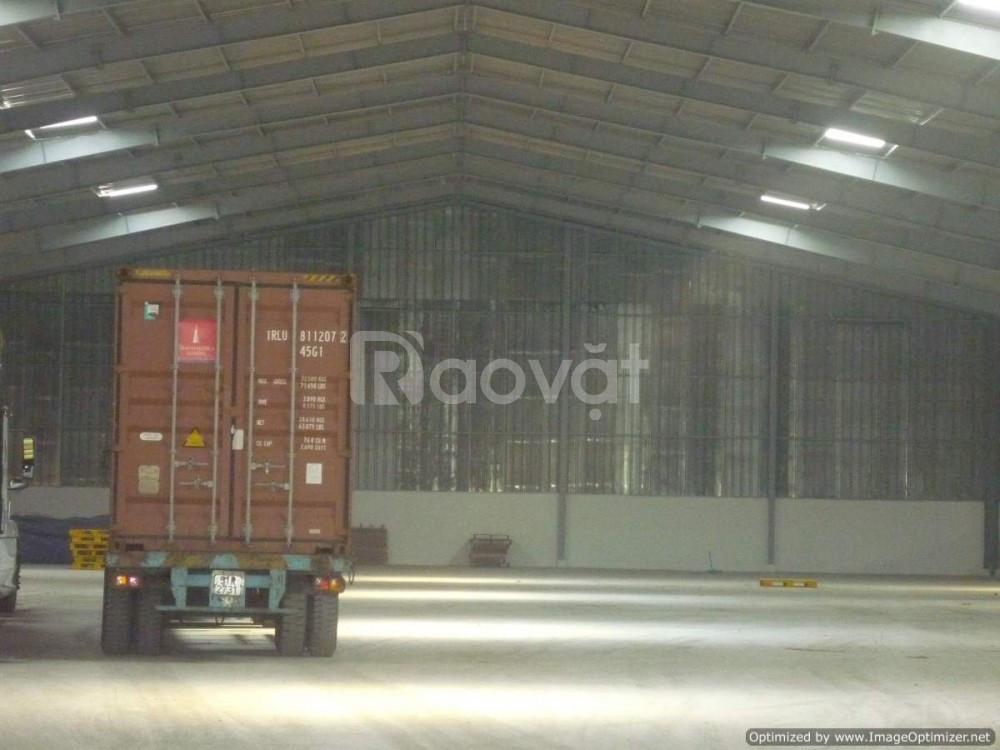 Cho thuê kho cạnh KCN Sóng Thần - 7300m2 - 47 nghìn/m2