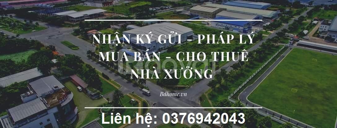 Cho thuê nhà xưởng xây mới trong KCN Uyên Hưng