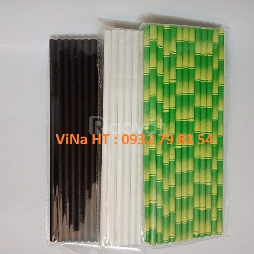 Ống hút giấy, sản xuất ống hút giấy dùng 1 lần