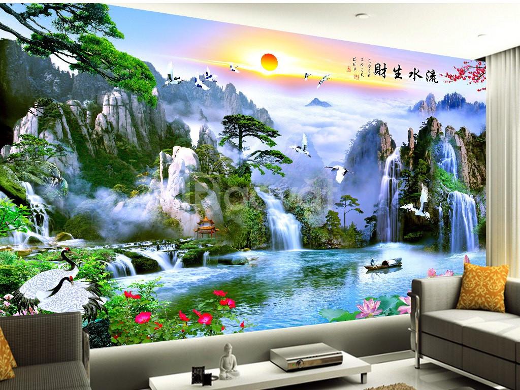 Tranh tường, gạch 3d, tranh trang trí 3d
