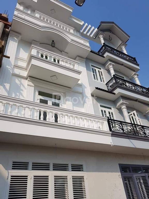 Nhà 1 trệt 2 lầu đường Phan Anh (4x14m).