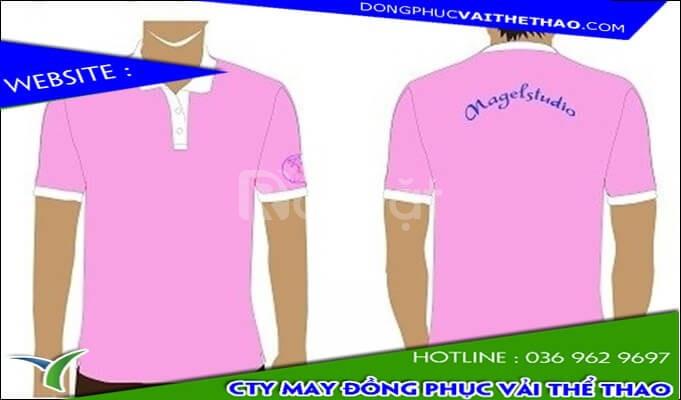 Công ty may áo thun đồng phục spa nữ đẹp vải 4 chiều