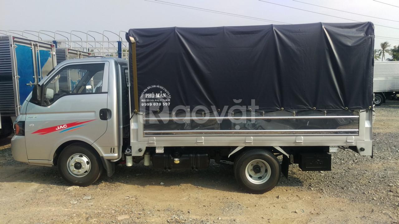 Bán xe tải jac x150 thùng 3m2 trả trước 70 triệu nhận xe