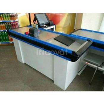 Chuyên sản xuất bàn thu ngân giá rẻ, bàn thu ngân siêu thị ks07