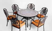 Bàn ghế nhôm đúc nghệ thuật chất lượng cao