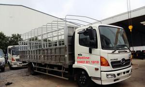Xe tải Hino 6 tấn thùng dài 7,3m tại Gia Lâm Hà Nội