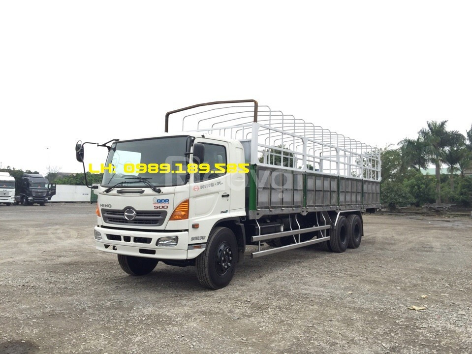 Xe tải Hino 3 chân/ xe tải hino 15 tấn/ xe hino FL chính hãng