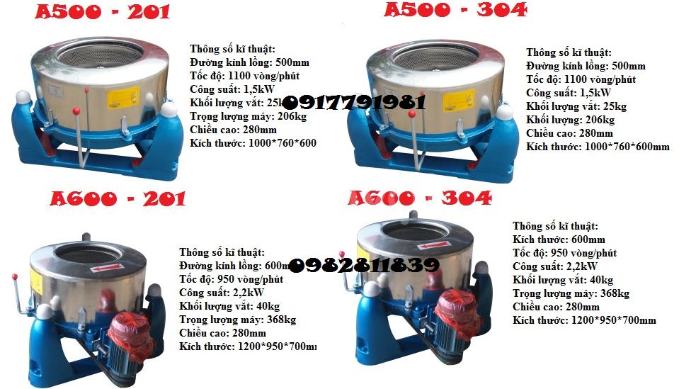Máy vắt li tâm công nghiệp 25-220kg