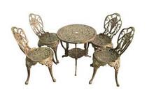 Bàn ghế nhôm đúc - Nội, ngoại thất uy tín và chất lượng