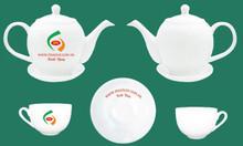 Xưởng in logo bộ ấm trà tại Quảng Ngãi giá rẻ